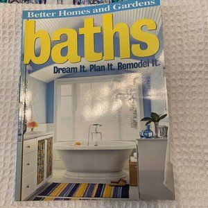 BATHS!! By Better Homes and Gardens